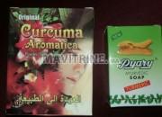 Photo de l'annonce: Curcuma Aromatica avec savon pyari importé