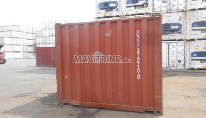 conteneur maritime occasion et neuf au Maroc
