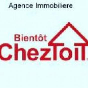 """Logo du Vitrine: AGENCE IMMOBILIèRE """" BIENTôT CHEZ TOIT """""""