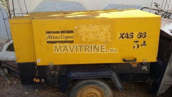 COMPRESSEUR ATLAS COPCO AXS 66