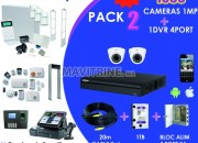 Photo de l'annonce: kit complet cameras surveillance dahua 2 MP