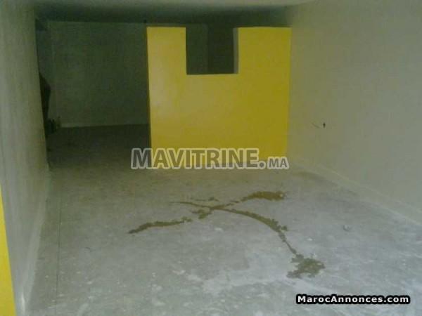 Location 2 Magasins Appartement  a Sala Al jadida