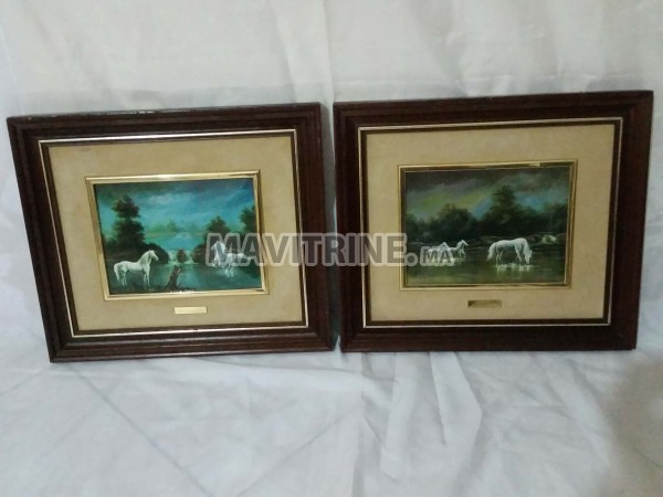Deux jolis tableaux originales