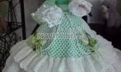 Robes de poupées en crochet