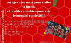 Pack Coupe du Monde Russie 2018