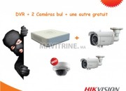 Photo de l'annonce: 2camera bull tbk + 1 dvr 4 + une camera gratuit