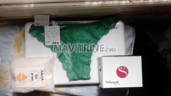 Selmark Culotte brésilien - Vert + Sel de bain