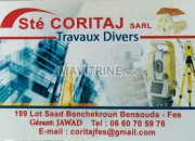 Photo de l'annonce: societé co-ritaj des travaux divers