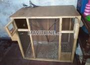 Photo de l'annonce: cage grande en bois