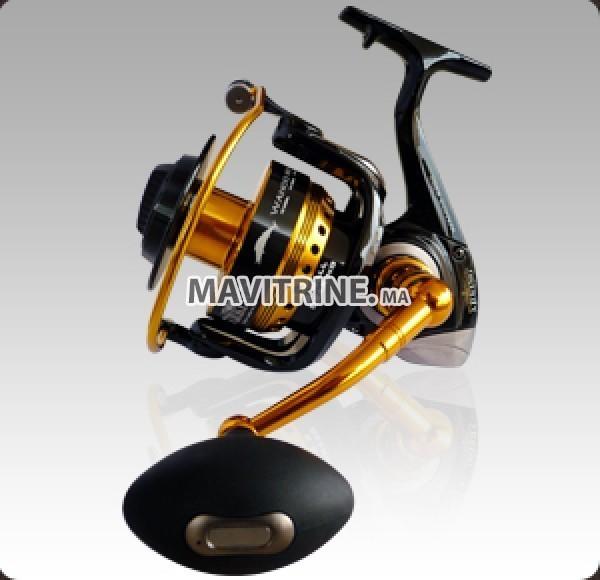 Canne a pêche et moulinet professionnel