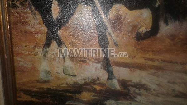 Tableau  peinture de palmero