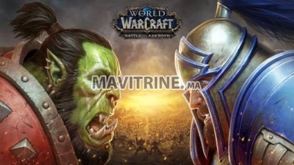 Figurines des personnages du jeu en ligne World of Warcraft WOW