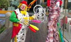 Animation anniversaire dj clown