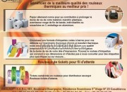 Photo de l'annonce: BÉNÉFICIEZ DE LA MEILLEURE QUALITÉ DES ROULEAUX THERMIQUES AU MEILLEUR PRIX !