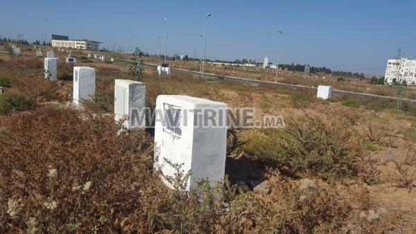 Terrain R+2 à Al Firdaous - Projet Addoha