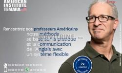 obtenez une évaluation exacte de votre niveau  d'anglais avec l'institut américain témara