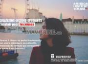 Photo de l'annonce: Formation anglais pour les jeunes à l'institut américain Témara