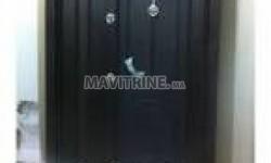 Menuiserie d'aluminium et inox, travaux de verre, moustiquaire.