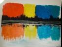 Photo de l'Annonce: Tableau peinture sur toile