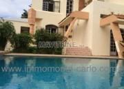 Photo de l'annonce: Jolie villa avec piscine à rabat Souissi