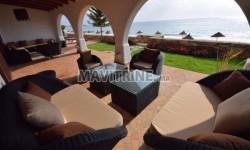 Location villa de lux pied dans l'eau marina smir