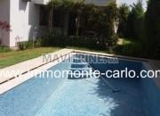 Photo de l'annonce: villa avec chauffage central à louer au quartier Souissi