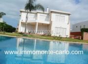 Photo de l'annonce: Location villa haut standing avec piscine à louer à Souissi Rabat