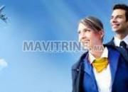 Photo de l'annonce: DEVENIR HÔTESSE DE L'AIR / STEWARD EN 3 MOIS SEULEMENT