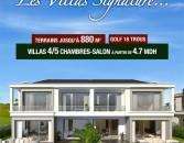 Découvrez nos villas Signature de 4-5 chambres et salon à partir de 4,7 MDH