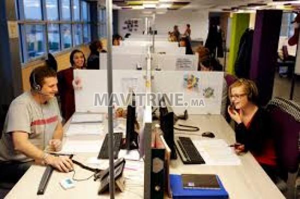 Centre D Appel Francophone AVEC OU Sans Experience  - Rabat