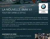 LA NOUVELLE BMW X1, TOUT EST DANS LE STYLE !
