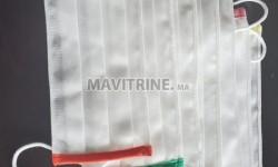 Masque en tissu 3 plis