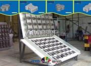 Photo de l'annonce: MACHINE DE FABRICATION DE PARPAING ET PAVE NEUF  A VENDRE