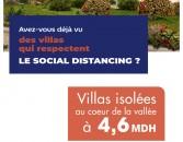 BLUEVALLEY, des villas de HAUT STANDING signées Omnidior, en plein cœur de la vallée de Rabat