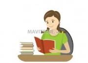 Photo de l'annonce: cours de français et anglais et arabe à distance