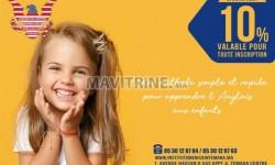 Inscription ouverte les cours d'Anglais pour les enfants