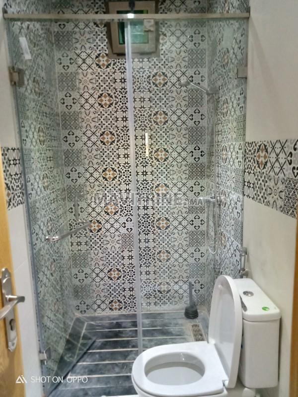 حمامات بالزجاج