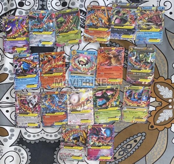 Pack de 18 cartes rare Pokémon