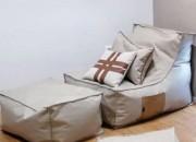 Photo de l'annonce: Pouf +fauteuil+ 2 coussins
