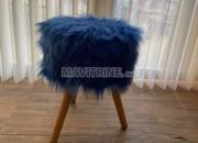 Photo de l'annonce: Chaise en fourrure