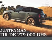 MINI COUNTRYMAN. À partir de 279 000 DHS