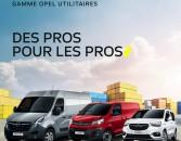 Opel Utilitaires : Des pros pour les pros !