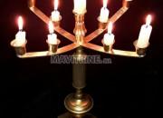 Photo de l'annonce: Bougeoir Juif Antique en cuivre شمعدان انتيك