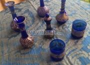 Photo de l'annonce: Collection de verre soufflé Egyptien Blue Cobalt